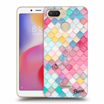 Etui na Xiaomi Redmi 6 - Colorful roof