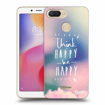 Etui na Xiaomi Redmi 6 - Think happy be happy