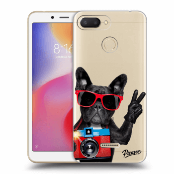 Etui na Xiaomi Redmi 6 - French Bulldog