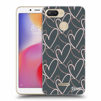 Etui na Xiaomi Redmi 6 - Lots of love