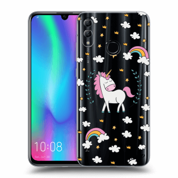 Etui na Honor 10 Lite - Unicorn star heaven