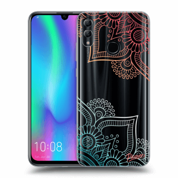 Etui na Honor 10 Lite - Flowers pattern