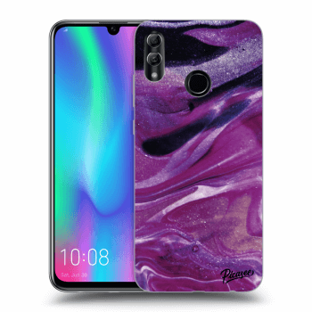 Etui na Honor 10 Lite - Purple glitter