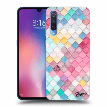 Etui na Xiaomi Mi 9 - Colorful roof