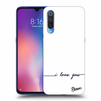 Etui na Xiaomi Mi 9 - I love you