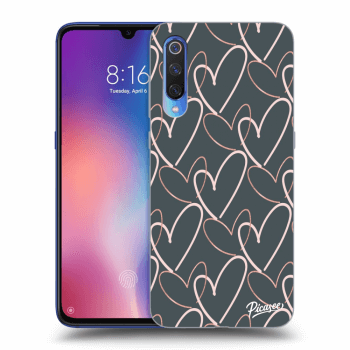 Etui na Xiaomi Mi 9 - Lots of love