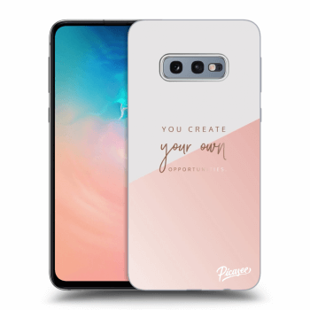 Etui na Samsung Galaxy S10e G970 - You create your own opportunities